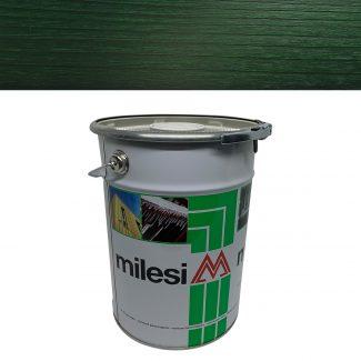 Lazura 3 in 1 verde padure Milesi XGT715 5L
