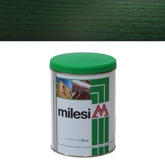 Lazura 3 in 1 verde padure Milesi XGT715 1L